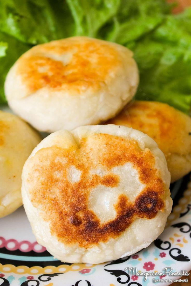 Receita de Chinese Meat Pie (Xian Bing) - Torta de Carne Chinesa. Para ver a receita, clique na imagem para ir ao Manga com Pimenta.