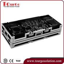 Tourgo CDJ Player Flight Case for 2 x American Audio Radios CDI Players and 19inch Mixer with Wheels