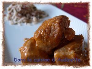 Sauté de Veau Marengo - Dans la cuisine d'Audinette