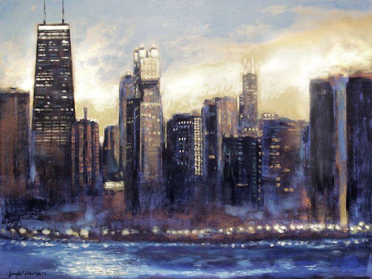 chicago skyline art - photo #23