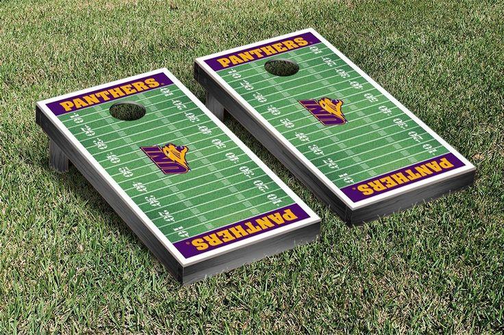 UNI Panthers Football Field Cornhole Board Set