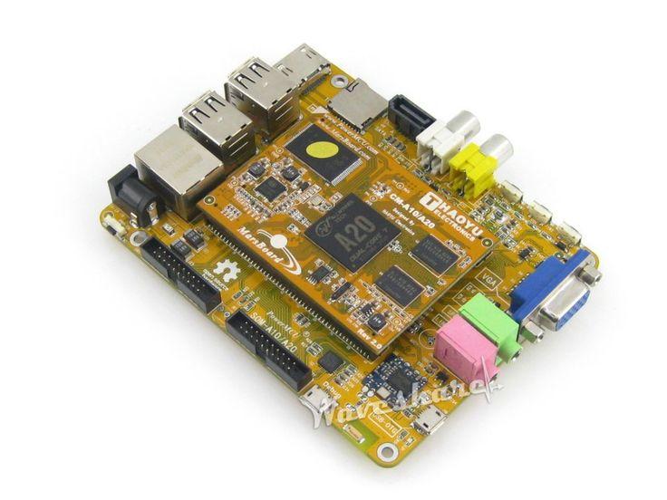 MarsBoard A20 Allwinner A20 Dual core ARM Cortex A7 CPU Dual core Mali-400 GPU with various interfaces VGA HDMI LCD CTP #Affiliate
