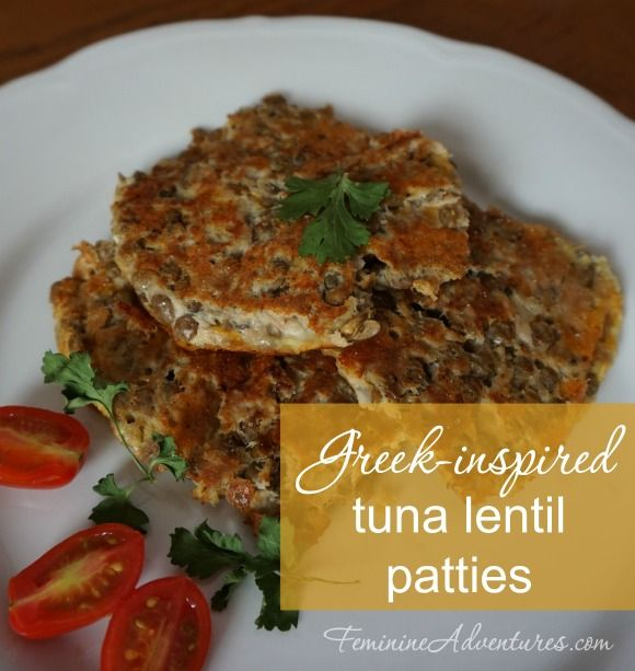 ... study, these tuna lentil patties are easy, delicious, and so healthy