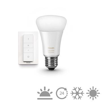 Kit Philips Hue 9.5W E27 A19 White Ambiance https://www.etbm.ro/philips-hue-connected-lighting  #led #ledphilips #philips #lighting #etbm #etbmro #philipsled #lightingfixtures #lightingdyi #design #homedecor #hue #philips hue #huebulbs #lamps #bedroom #inspiration #livingroom #wall #diy #scenes #hack #ideas