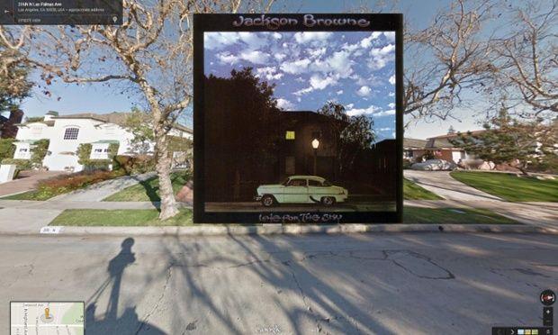 Late for the Sky by Jackson Browne - Tapas de discos vistas en Google Street View - http://2ba.by/12neb