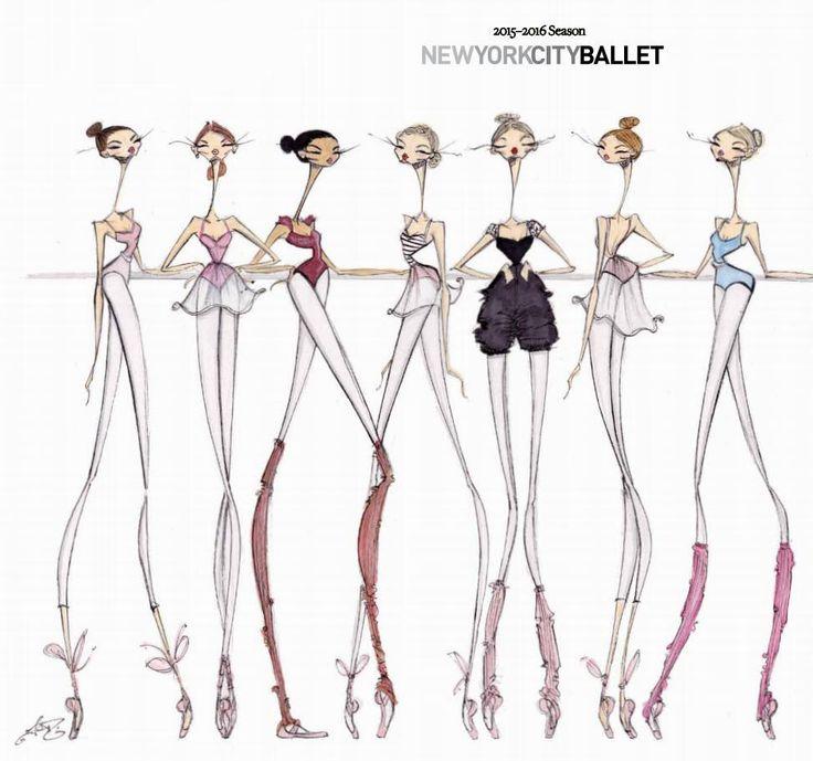 @JamieLeeReardin Your illustrations for the New York City Ballet's 2015-2016 Season are SENSATIONAL!