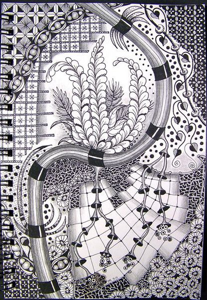 17 Best Images About Zentangle Drawings And Doodles On