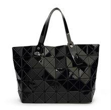 2016 New Bao bao women pearl bag Diamond Lattice Tote geometry Quilted shoulder bag sac bags handbags women famous brands  Price: US $21.76  Sale Price: US $21.76  #dressional