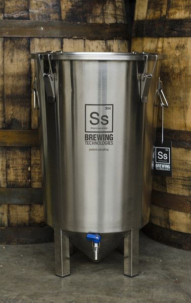Brew Bucket Stainless Fermenter™ *Free Shipping* - Farmhouse Brewing Supply