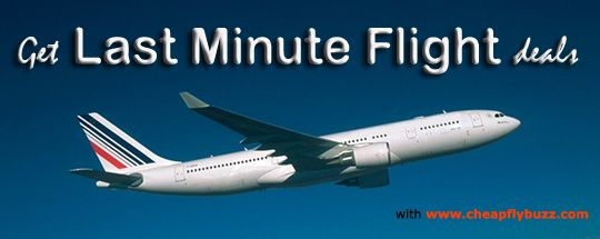 How to get very cheap last minute flight deals