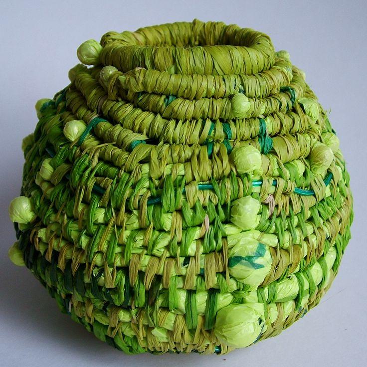Coil Basket Weaving Patterns : Coiled basket by kathryn hollingsworth fiber arts