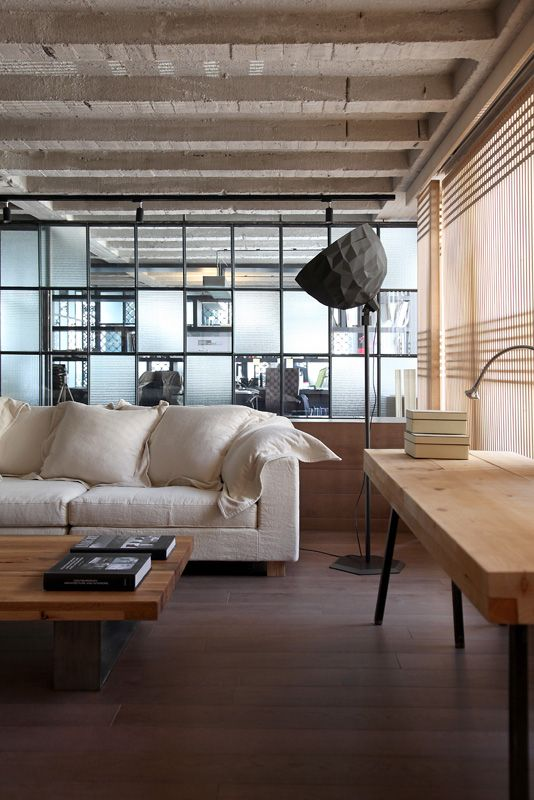 Loft in Athens, Morosso, design, living room, industrial, esestudio architects