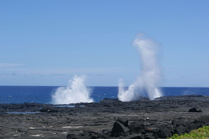 #Travel - Blow Holes, #Savaii, #Samoa. Photo: D Rudman