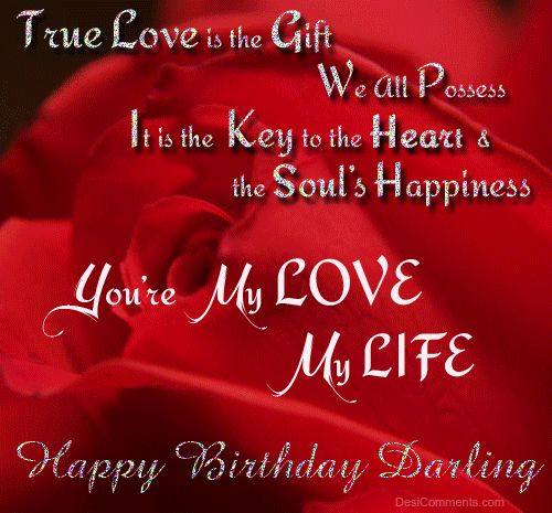 Birthday Wishes Animated Greeting Cards For Love. Cute Quotes ...