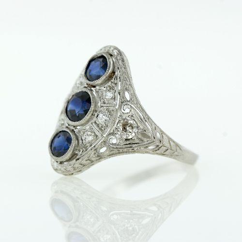 История красоты - Украшения эдвардианской эпохи - бриллиантовые кольца