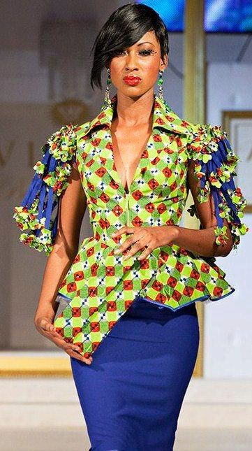 Fashion Police Nigeria African Prints Various Glamour