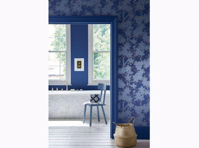 Les 47 meilleures images du tableau Blue decor design sur Pinterest - Peindre Carrelage Salle De Bains