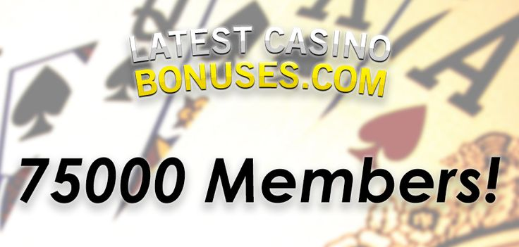 Our Community is growing stronger!  http://www.latestcasinobonuses.com/onlinecasinobonusforum/