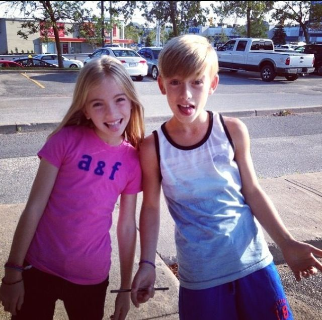 Lauren orlando with her brother Johnny orlando