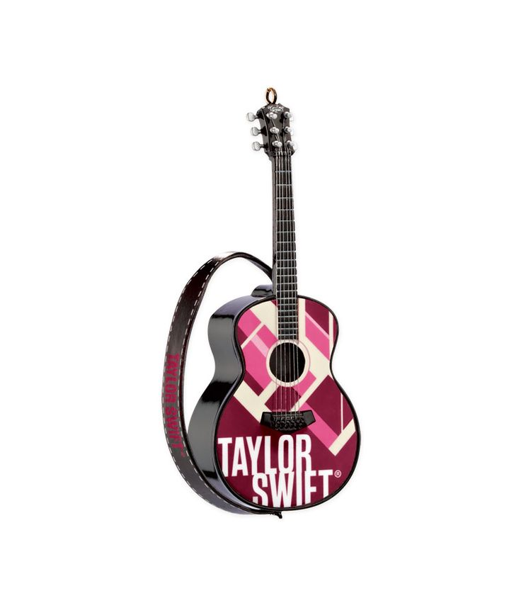 """""""RED"""" Guitar Ornament: Taylor Swift Official Online Store"""