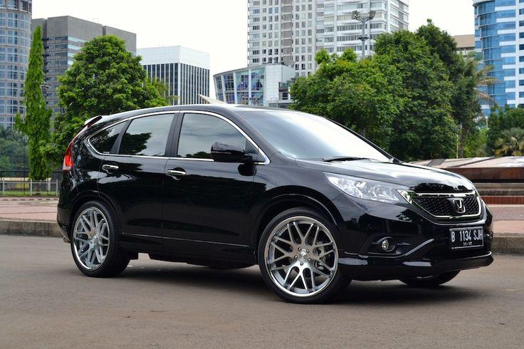 CRV Hitam Velg Crom | Modif Mobil | Pinterest | Honda Crv and Honda ...