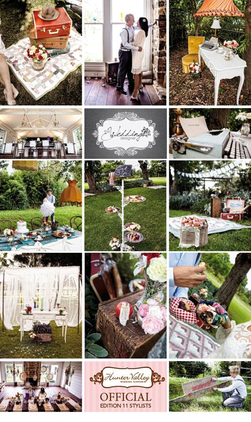 Your Hunter Valley Wedding Planner Official Stylists - The Wedding Designers