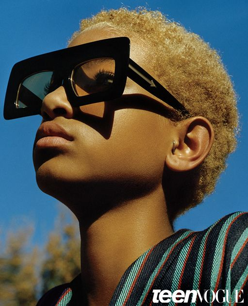 Willow Smith Like You've Never Seen Her: An Exclusive Look Inside Her World. Karen Walker Sunglasses