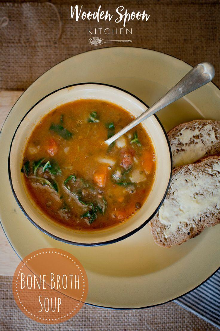 Bone broth soup