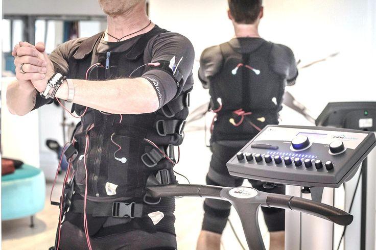 Electro Muscular Stimulation (EMS) Electrode Vest