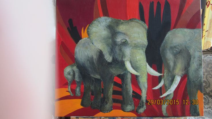 The elephant song....