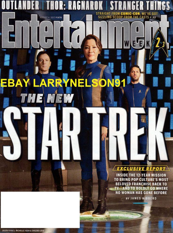 ENTERTAINMENT WEEKLY MAGAZINE AUGUST 4 2017 LILY COLLINS STAR TREK SUPERNATURAL