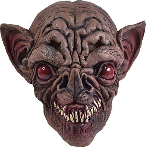 Halloween Horror Party Costume Accessory Animal Scary Bat Dracula Vampire Mask @ niftywarehouse.com #NiftyWarehouse #Dracula #Vampires #ClassicHorrorMovies #Horror #Movies #Halloween #Vampire