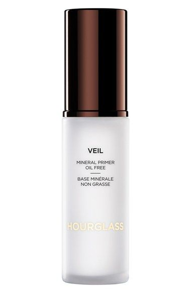 want! The smaller one is fine - I used a sample in Vegas and it didn't wash off in the pool! Baller. HOURGLASS Cosmetics Veil Mineral Primer available at #Nordstrom