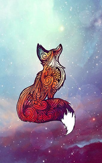 Be cool if you could smudge around the basic color instead and then sharpie it. Make it like a sunset with the sharpening of a fox instead