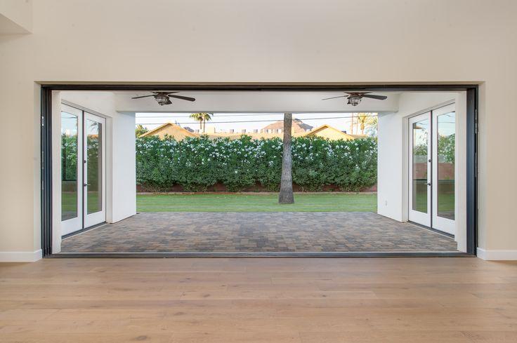 Arcadia Smart Homes Model Home 20 Foot Sliding Glass Patio Door