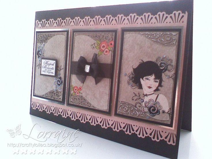 Lorraine C mackie: Frou Frou by #crafterscompanion