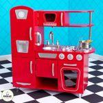 KidKraft®+–+Red+Vintage+Kitchen