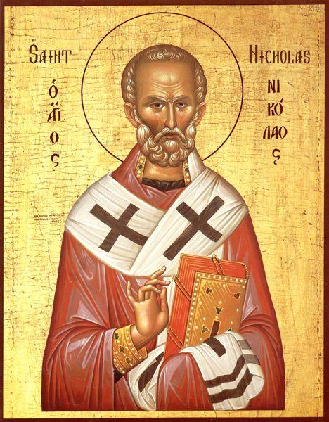 IcSNicholas2 - Orthodox  St. Nicholas Icon