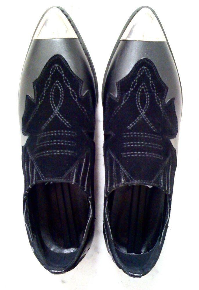 DESIGNER-DAMEN-HALBSCHUH, Größe 37, schwarz/silber, KUNSTLEDER außen+innen+Sohle in Kleidung & Accessoires, Damenschuhe, Halbschuhe & Ballerinas | eBay!