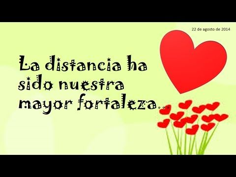 Para mi Amor a Distancia ♥ Amor Lejano - YouTube