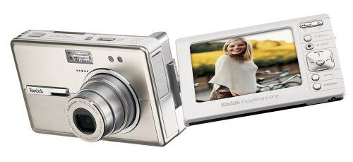 Kodak Easyshare One 4 MP Digital Camera with 3xOptical Zoom. 4.0 MP captures enough detail for photo-quality 11 x 15-inch prints. Schneider-Kreuznach C-Variogon 3x optical zoom lens. 256 MB internal memory stores up to 1500 favorite pictures. 3.0-inch (7.6 centimeter) rotating touch screen and stylus. Wireless for instant sharing with included Wi-Fi card.