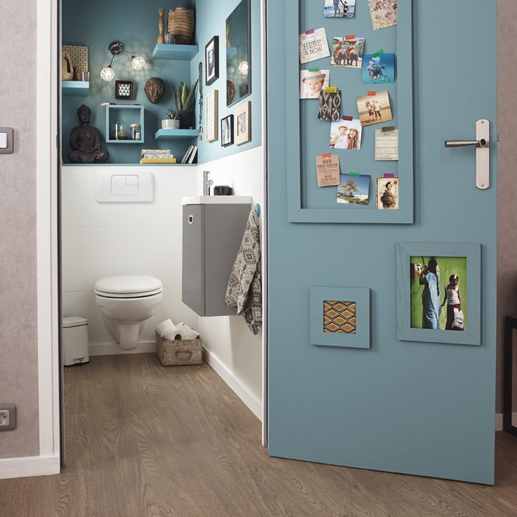 25 best ideas about am nagement wc on pinterest toilettes deco wc and inspiration wc for Peindre les toilettes