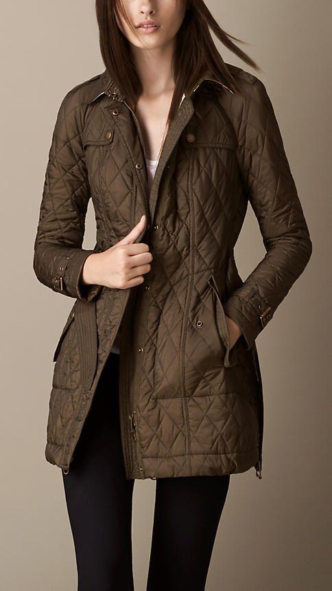 147 best Quilted jackets images on Pinterest | Blazers, Children ... : brown quilted coat - Adamdwight.com