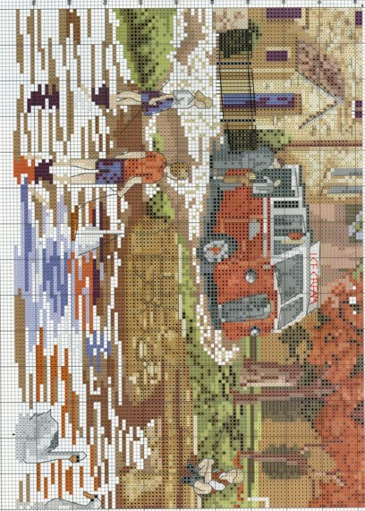 (1) Gallery.ru / Фото #9 - Cross Stitch Collection 147 август 2007 - tymannost