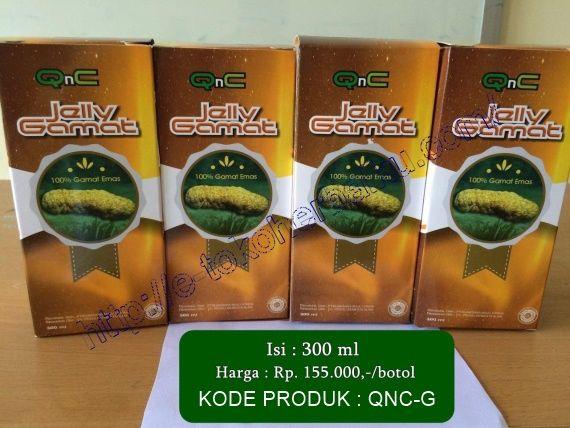 Jelly Gamat QnC Obat Herbal Terbaik 2016 Jelly Gamat QNC Produk Herbal Alami Asli Indonesia, 100% Aman, Halal, Legal, dan tidak menimbulkan efek samping.
