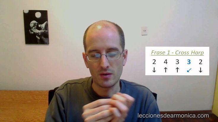 Armonica Escala de Blues en Cross Harp 2da Parte