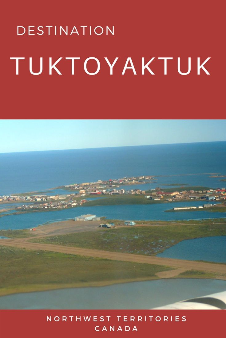 Of all the small communities in the Western Arctic, Tuktoyaktuk is the community best geared for tourism. Tuk, as it is commonly known, is located in Canada's farthest northern region on the Arctic Ocean.