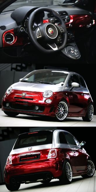 Fiat 500 Abarth HOO HOO HOO!! Want this sooooo bad, defo. on my shopping list, luv it!!