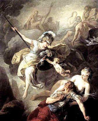 The Myth of Athena, the Goddess of Wisdom