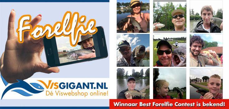 Winnaar Best Forelfie Contest is bekend!